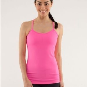 Lululemon Hot Pink Tank Top